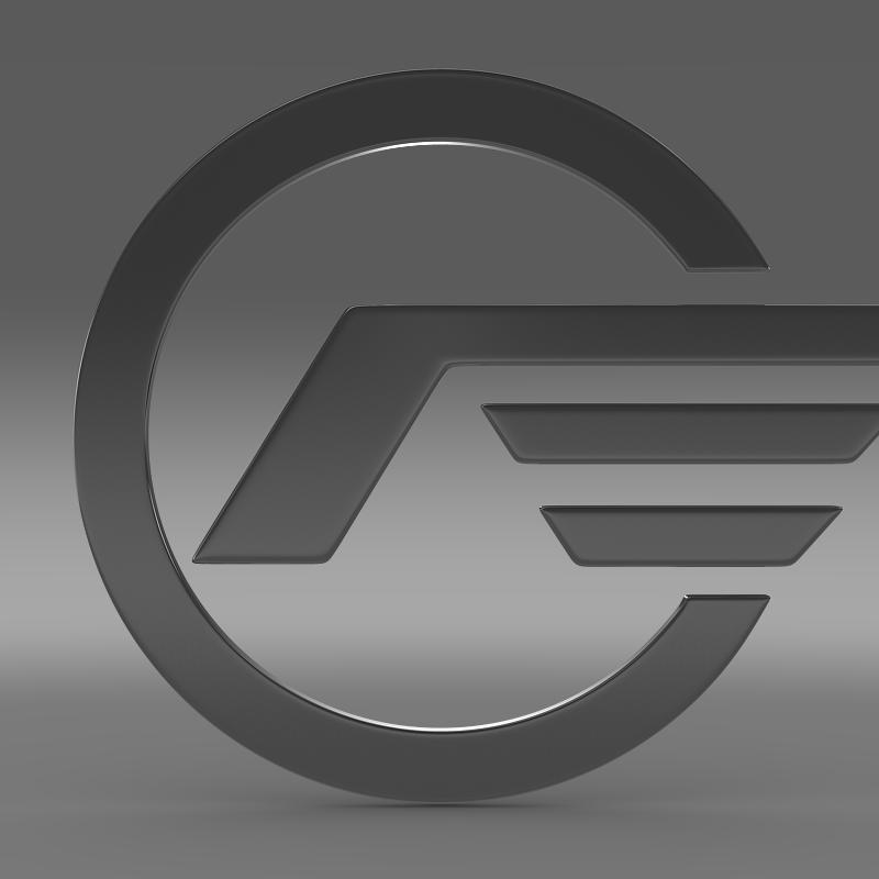 astra logo 3d model 3ds max fbx c4d lwo ma mb hrc xsi obj 162626