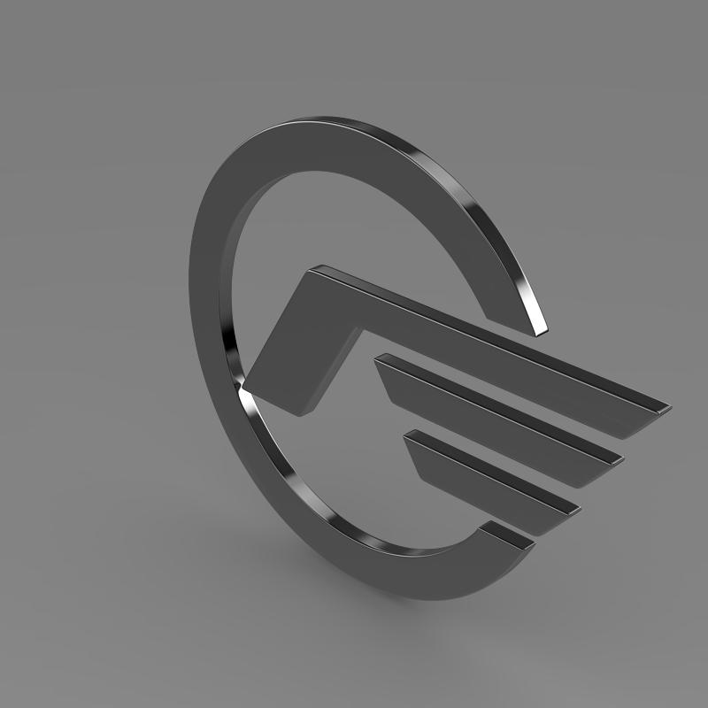 astra logo 3d model 3ds max fbx c4d lwo ma mb hrc xsi obj 162628