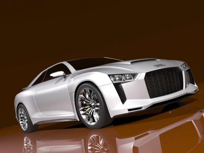 audi quattro concept 2010 3d model 3ds max 128830