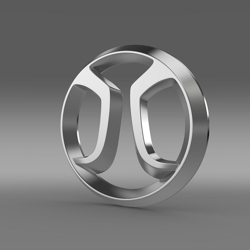 baic logo 3d model 3ds max fbx c4d lwo ma mb hrc xsi obj 149412