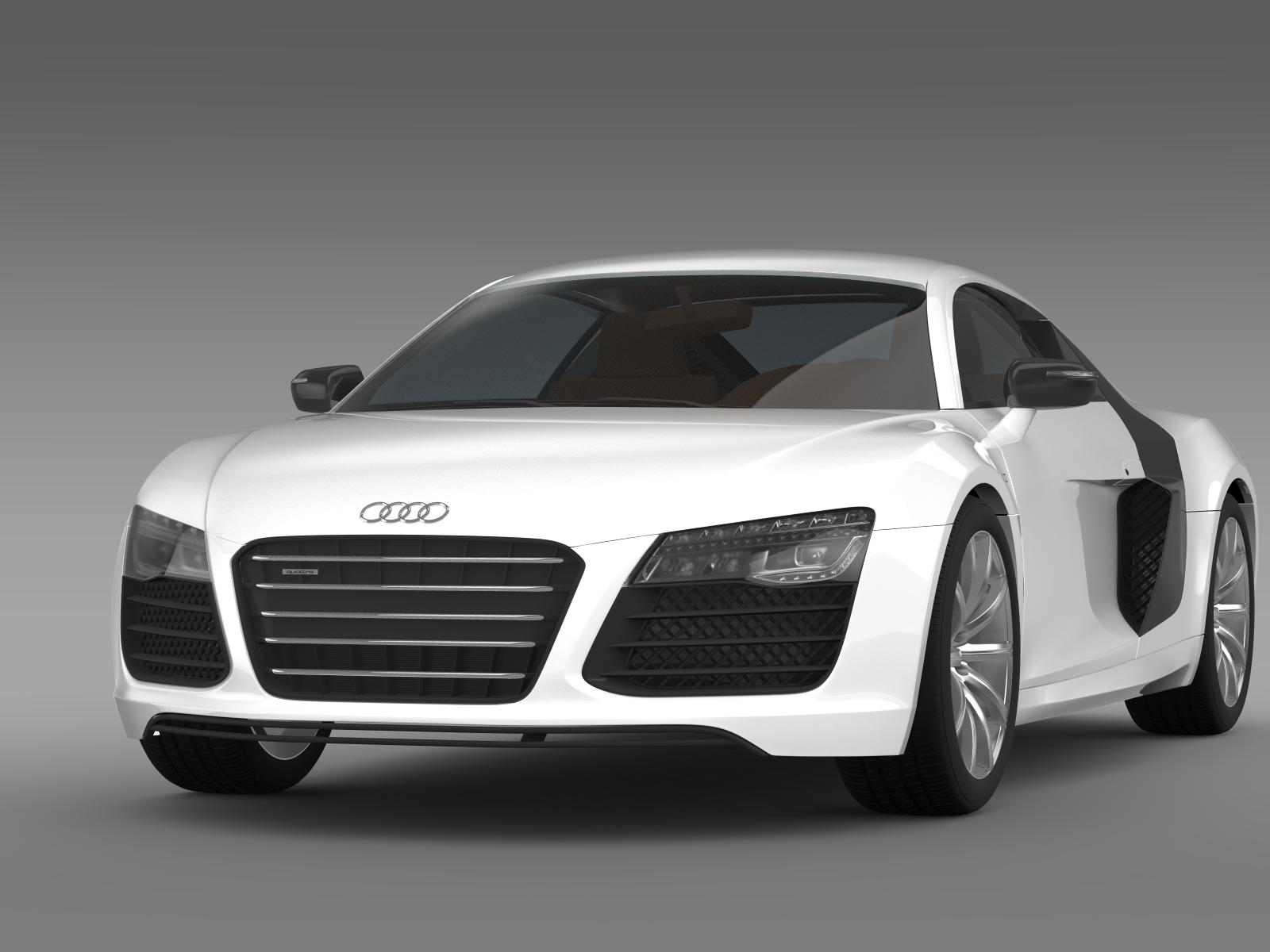 b b audi r8 v10 plus 2013 3d model buy b b audi r8 v10. Black Bedroom Furniture Sets. Home Design Ideas