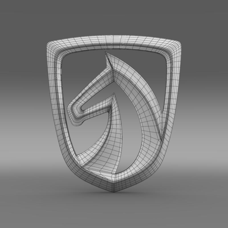 baojun logo 3d model 3ds max fbx c4d lwo ma mb hrc xsi obj 153431
