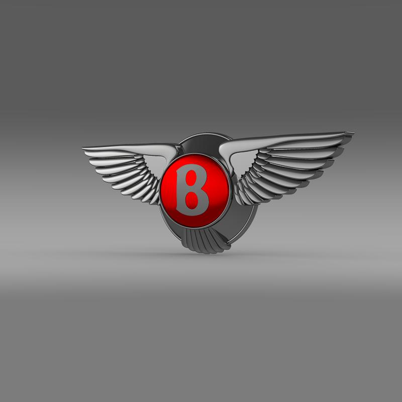 bentley 2012 logo 3d model 3ds max fbx c4d lwo ma mb hrc xsi obj 151266