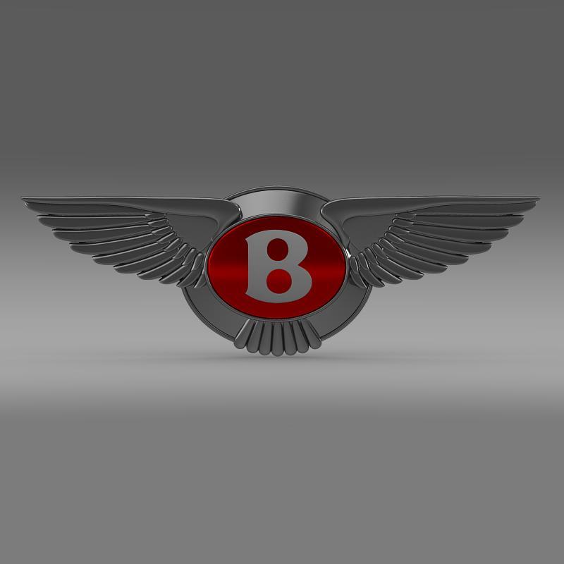 bentley 2012 logo 3d modelis 3ds max fbx c4d lwo ma mb hrc xsi obj 151267