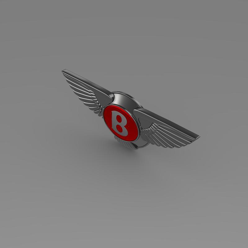 bentley 2012 logo 3d modelis 3ds max fbx c4d lwo ma mb hrc xsi obj 151269