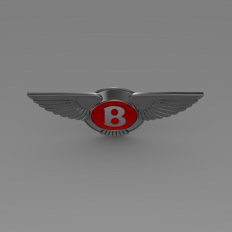 bentley 2012 logo 3d modelis 3ds max fbx c4d lwo ma mb hrc xsi obj 151270
