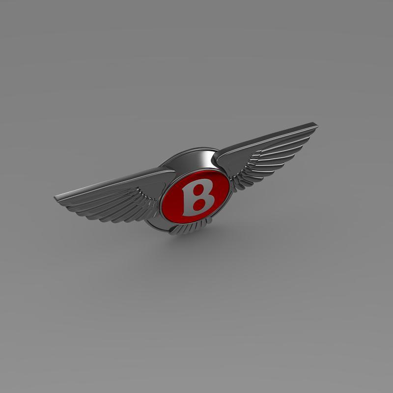 bentley 2012 logo 3d modelis 3ds max fbx c4d lwo ma mb hrc xsi obj 151271