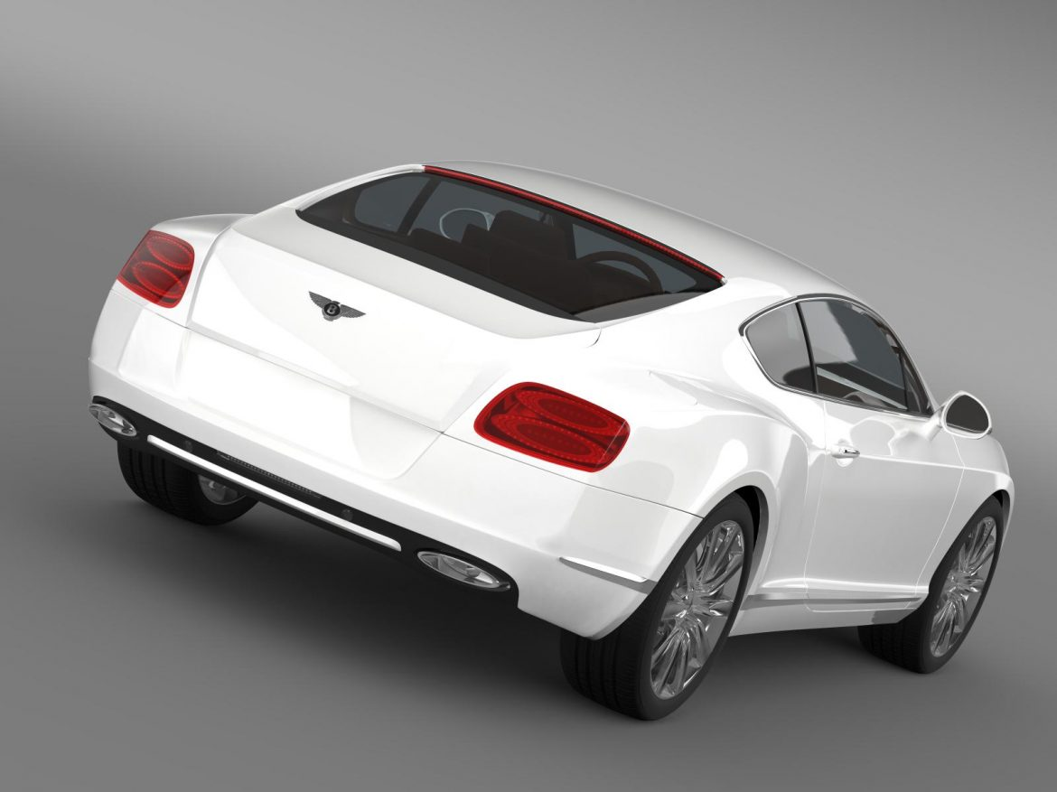 bentley continental gt 2011 3d model 3ds max fbx c4d lwo ma mb hrc xsi obj 163462