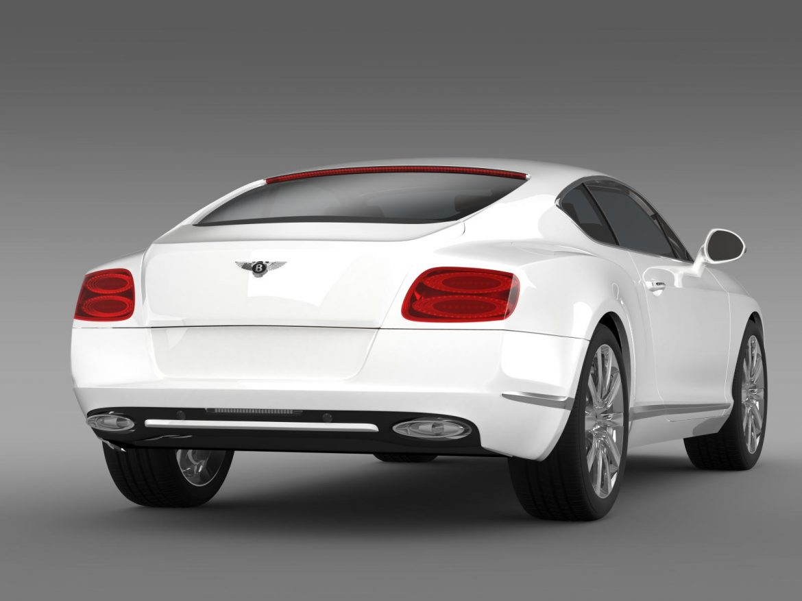 bentley continental gt 2011 3d model 3ds max fbx c4d lwo ma mb hrc xsi obj 163469