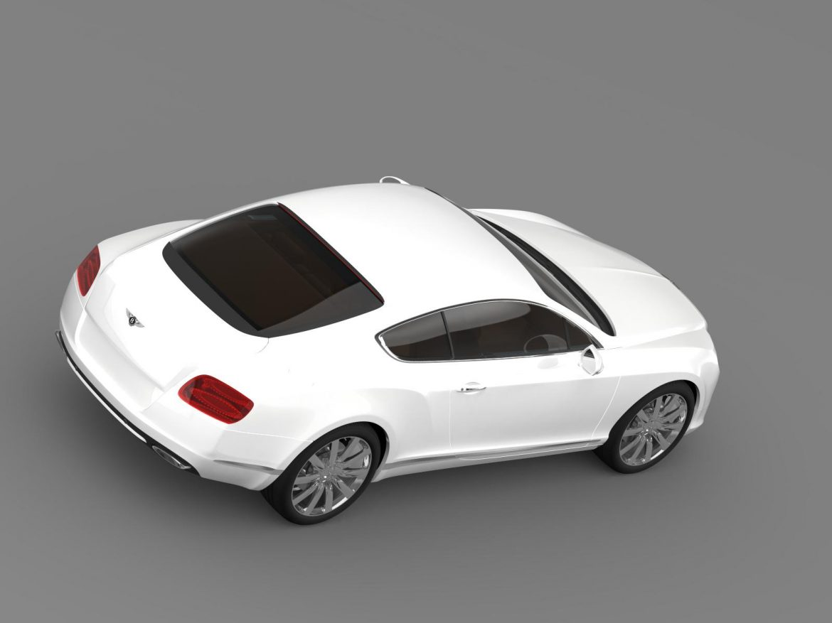 bentley continental gt 2011 3d model 3ds max fbx c4d lwo ma mb hrc xsi obj 163470