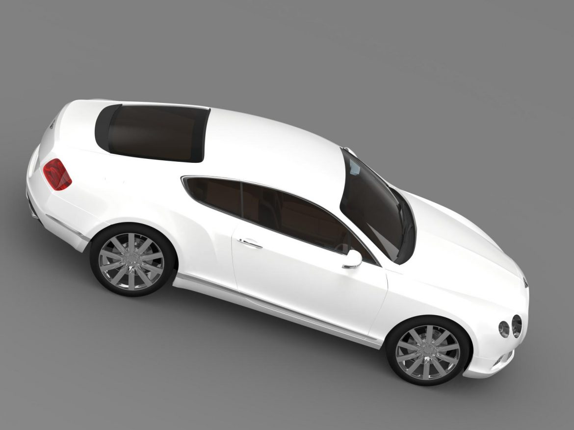 bentley continental gt 2011 3d model 3ds max fbx c4d lwo ma mb hrc xsi obj 163471