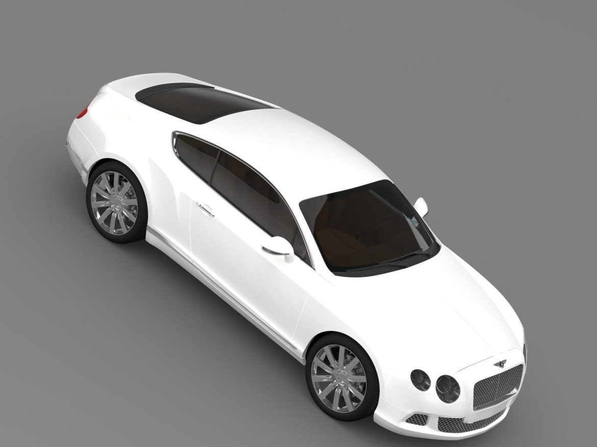 bentley continental gt 2011 3d model 3ds max fbx c4d lwo ma mb hrc xsi obj 163472