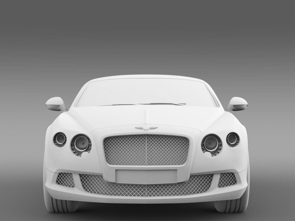 bentley continental gt 2011 3d model 3ds max fbx c4d lwo ma mb hrc xsi obj 163473