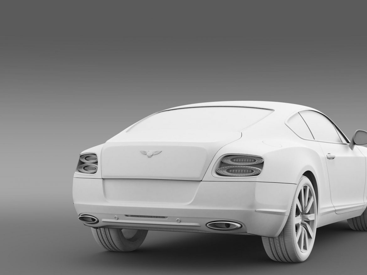 bentley continental gt 2011 3d model 3ds max fbx c4d lwo ma mb hrc xsi obj 163476