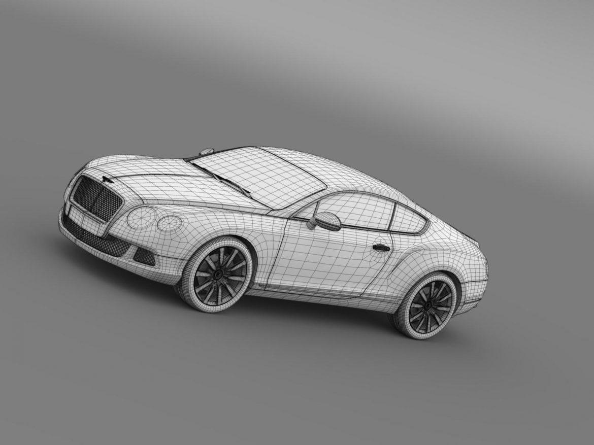 bentley continental gt 2011 3d model 3ds max fbx c4d lwo ma mb hrc xsi obj 163477