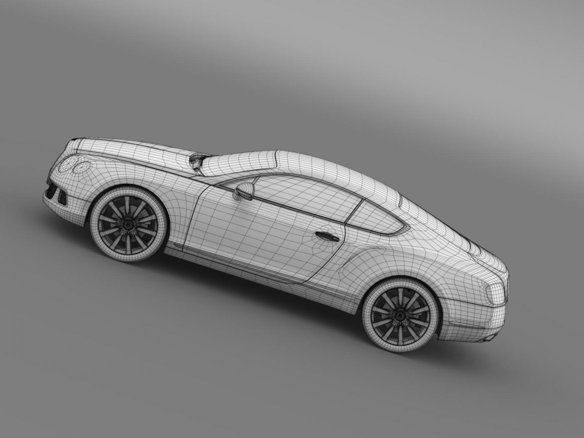 bentley continental gt 2011 3d model 3ds max fbx c4d lwo ma mb hrc xsi obj 163478