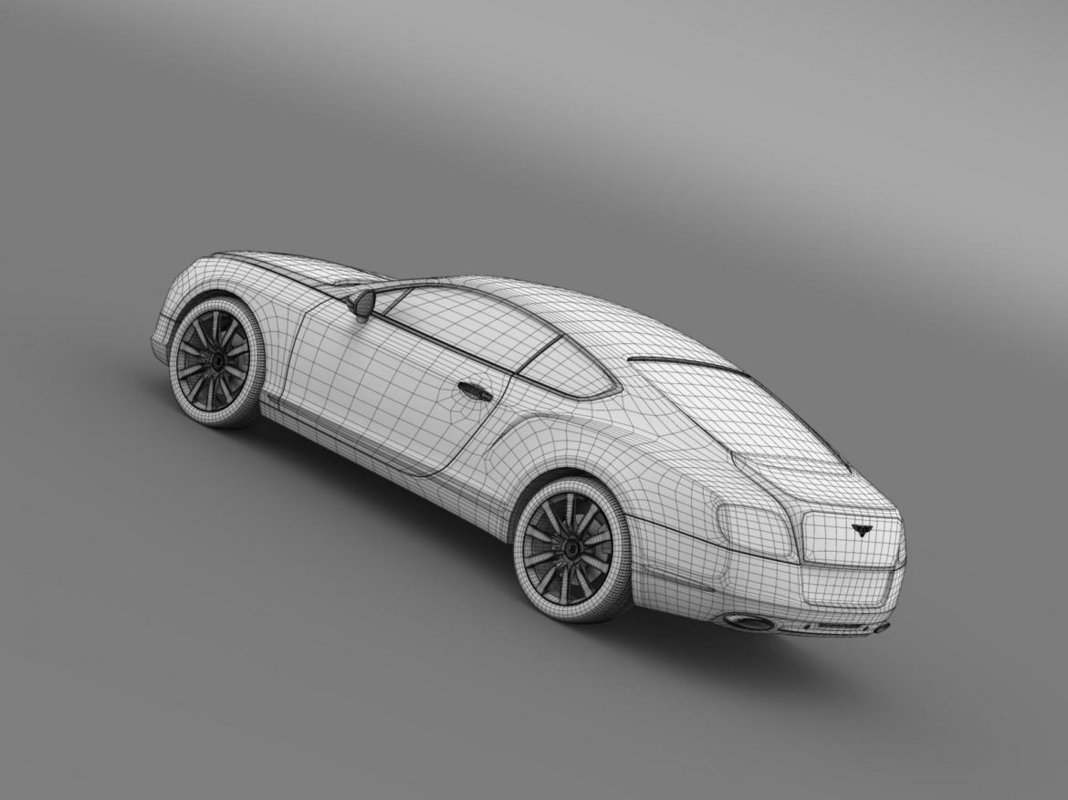 bentley continental gt 2011 3d model 3ds max fbx c4d lwo ma mb hrc xsi obj 163479