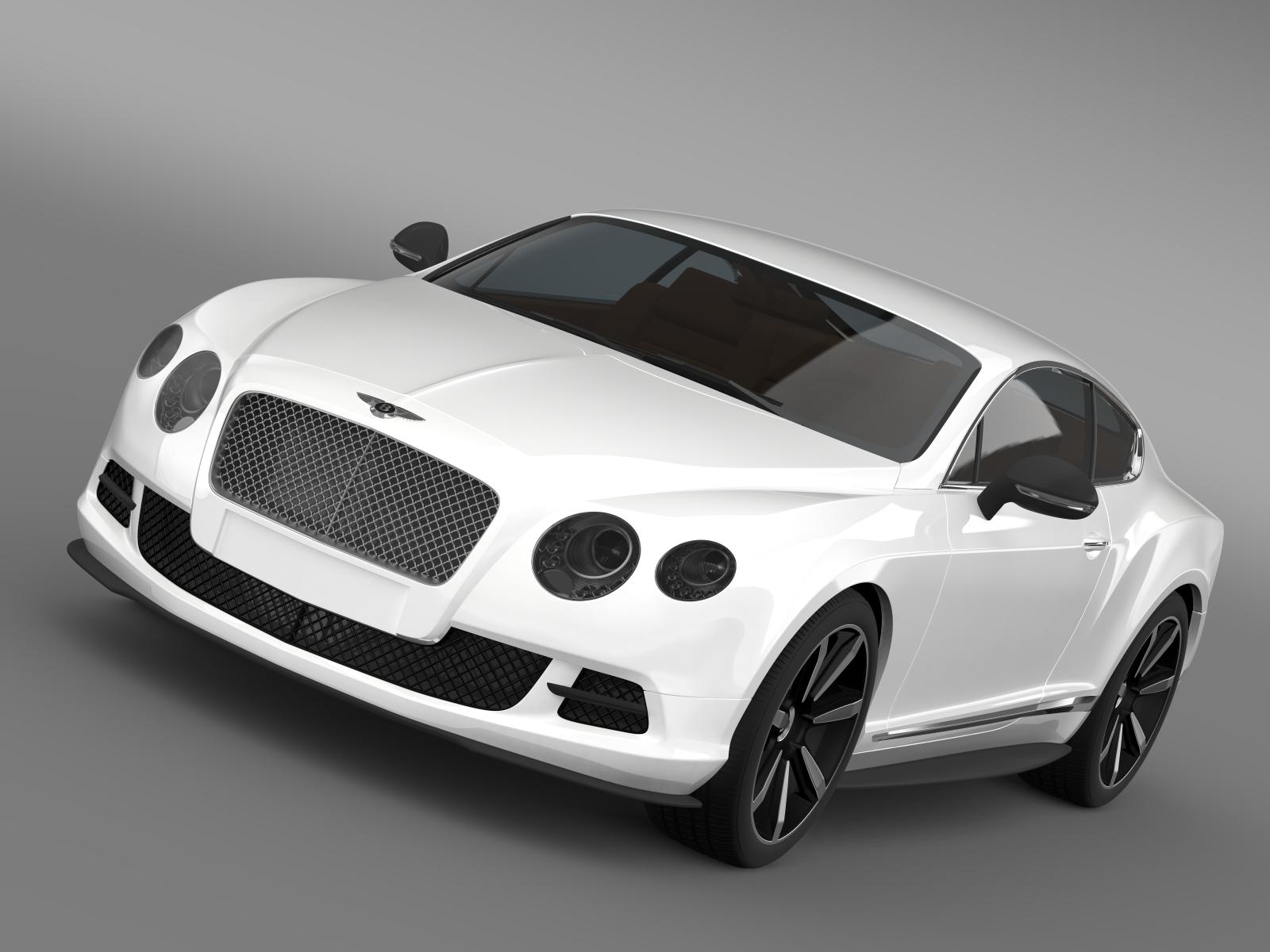 bentley continental gt mulliner styling 2011 3d model 3ds max fbx c4d lwo ma mb hrc xsi obj 163480