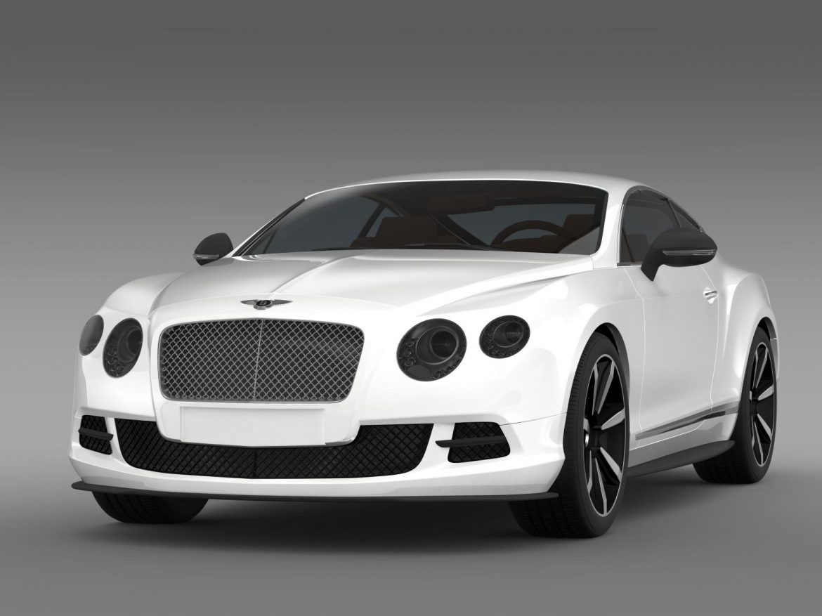 bentley continental gt mulliner styling 2011 3d model 3ds max fbx c4d lwo ma mb hrc xsi obj 163482