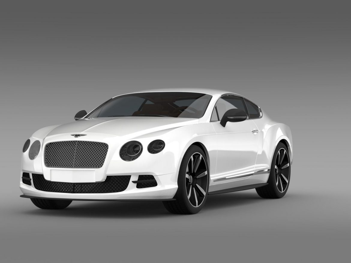 bentley continental gt mulliner styling 2011 3d model 3ds max fbx c4d lwo ma mb hrc xsi obj 163483