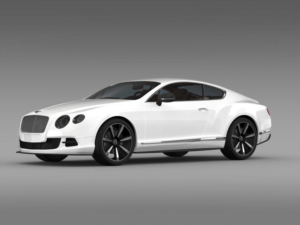 bentley continental gt mulliner styling 2011 3d model 3ds max fbx c4d lwo ma mb hrc xsi obj 163484
