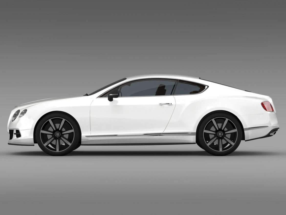 bentley continental gt mulliner styling 2011 3d model 3ds max fbx c4d lwo ma mb hrc xsi obj 163485