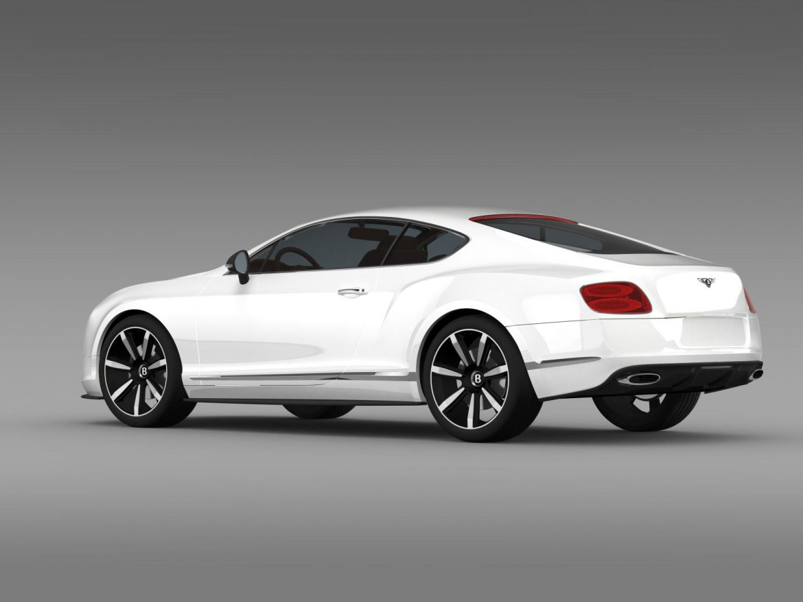 bentley continental gt mulliner styling 2011 3d model 3ds max fbx c4d lwo ma mb hrc xsi obj 163486