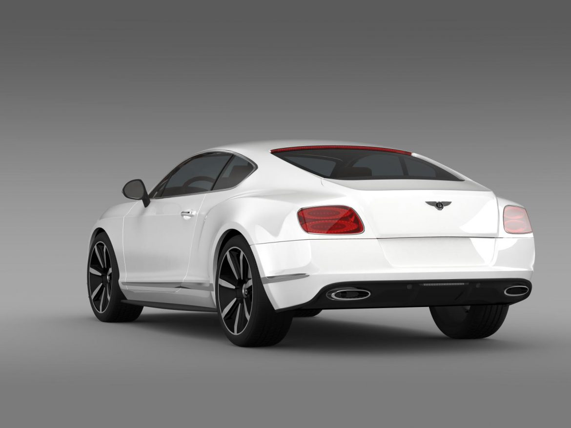 bentley continental gt mulliner styling 2011 3d model 3ds max fbx c4d lwo ma mb hrc xsi obj 163487