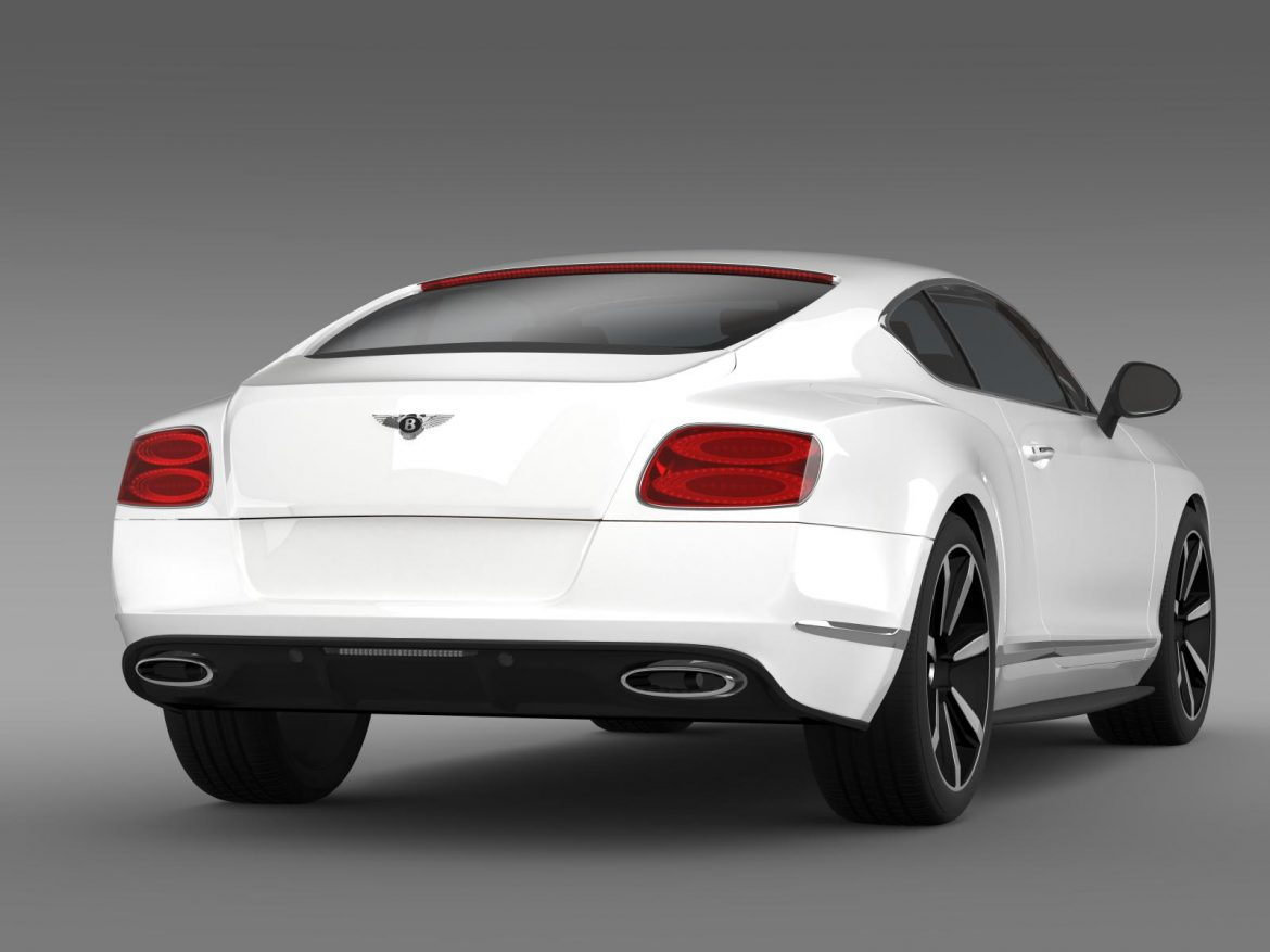 bentley continental gt mulliner styling 2011 3d model 3ds max fbx c4d lwo ma mb hrc xsi obj 163488