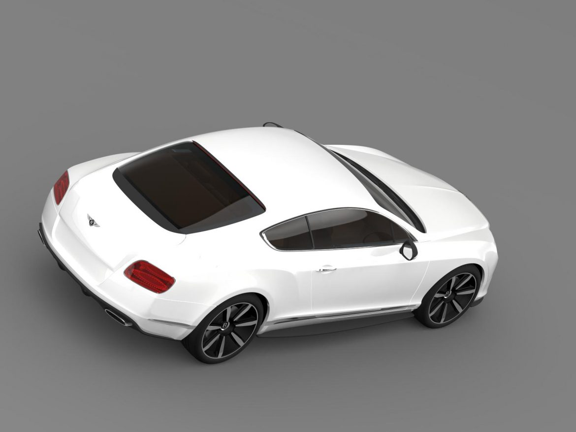 bentley continental gt mulliner styling 2011 3d model 3ds max fbx c4d lwo ma mb hrc xsi obj 163489