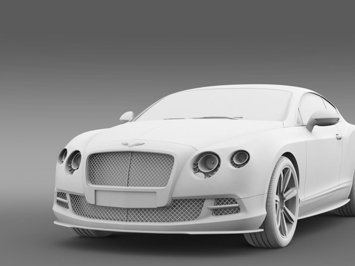 bentley continental gt mulliner styling 2011 3d model 3ds max fbx c4d lwo ma mb hrc xsi obj 163494