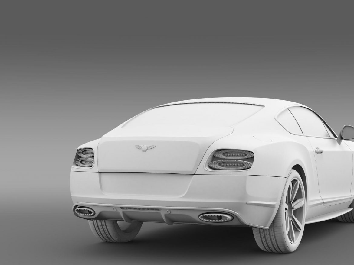 bentley continental gt mulliner styling 2011 3d model 3ds max fbx c4d lwo ma mb hrc xsi obj 163495
