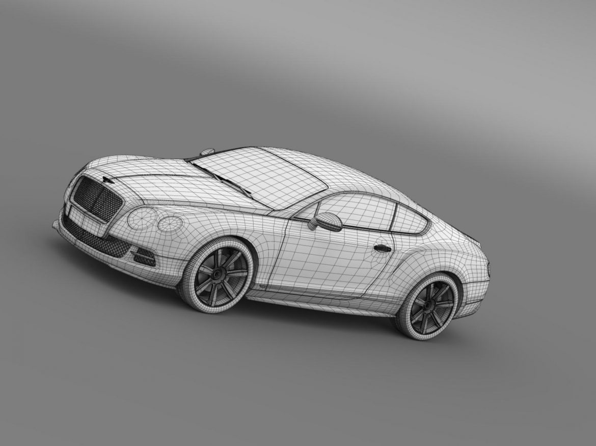 bentley continental gt mulliner styling 2011 3d model 3ds max fbx c4d lwo ma mb hrc xsi obj 163496
