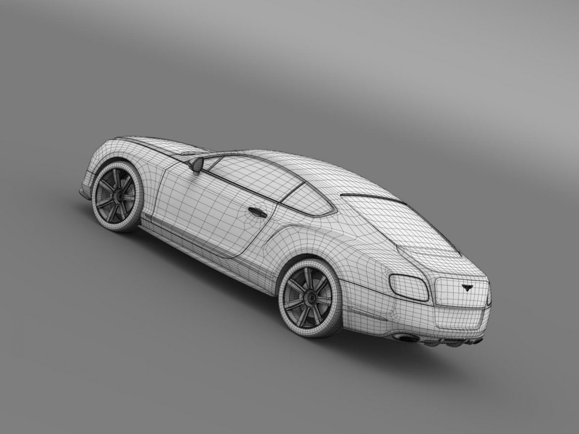 bentley continental gt mulliner styling 2011 3d model 3ds max fbx c4d lwo ma mb hrc xsi obj 163498