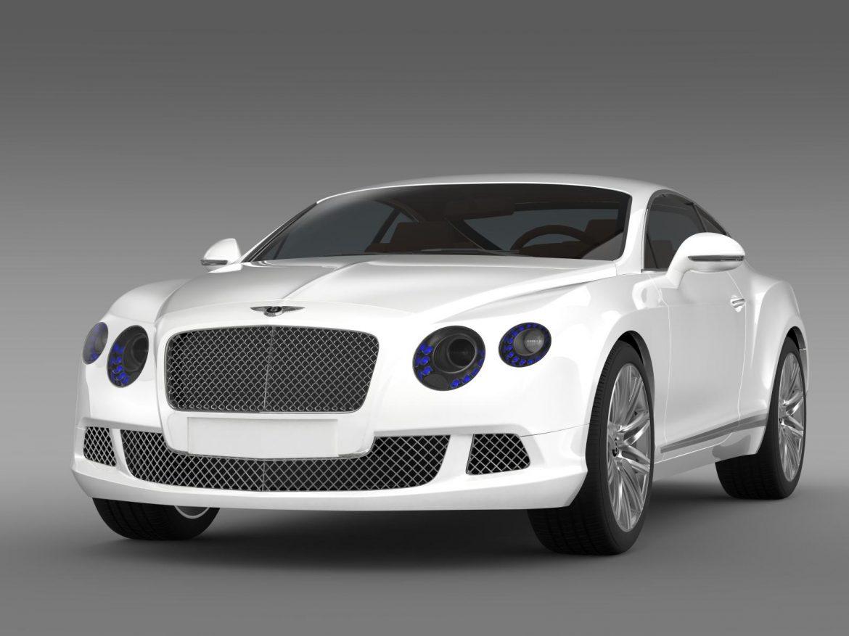 bentley continental gt speed 2012 3d model 3ds max fbx c4d lwo ma mb hrc xsi obj 163424