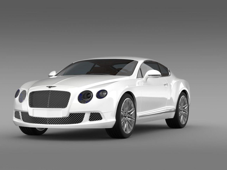 bentley continental gt speed 2012 3d model 3ds max fbx c4d lwo ma mb hrc xsi obj 163425