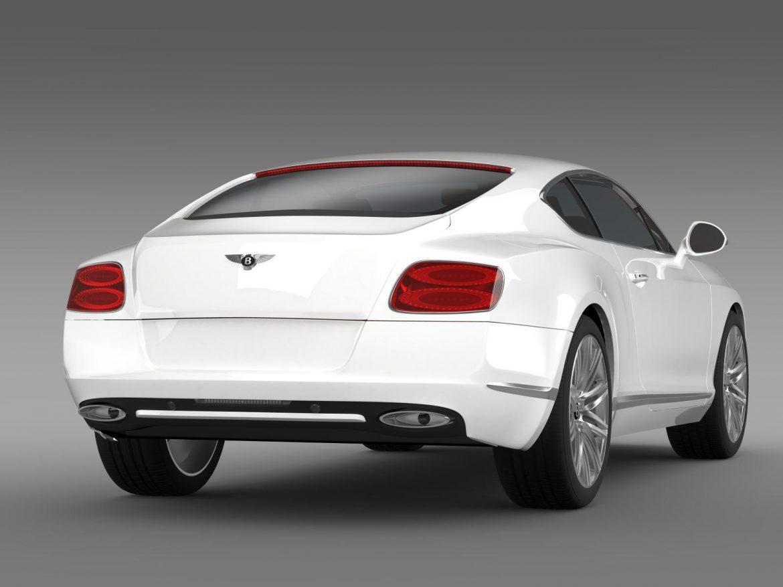 bentley continental gt speed 2012 3d model 3ds max fbx c4d lwo ma mb hrc xsi obj 163430