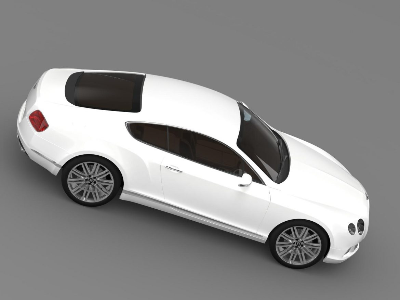 bentley continental gt speed 2012 3d model 3ds max fbx c4d lwo ma mb hrc xsi obj 163432