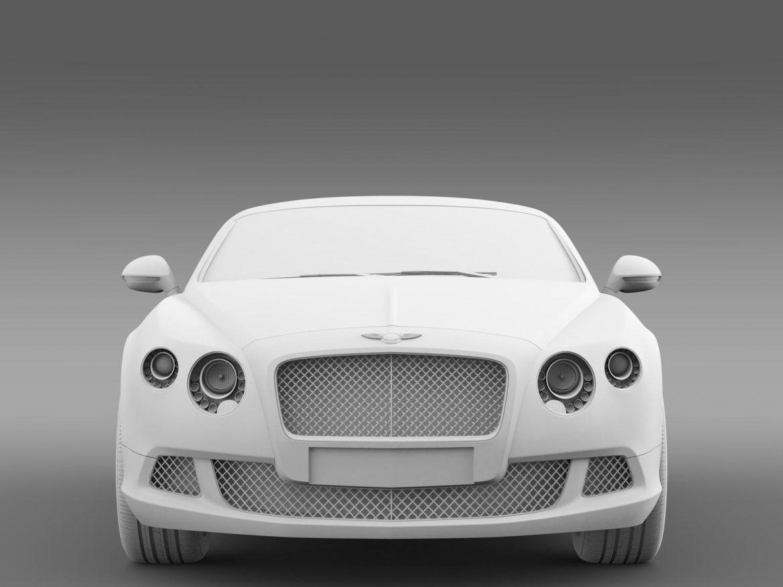 bentley continental gt speed 2012 3d model 3ds max fbx c4d lwo ma mb hrc xsi obj 163433