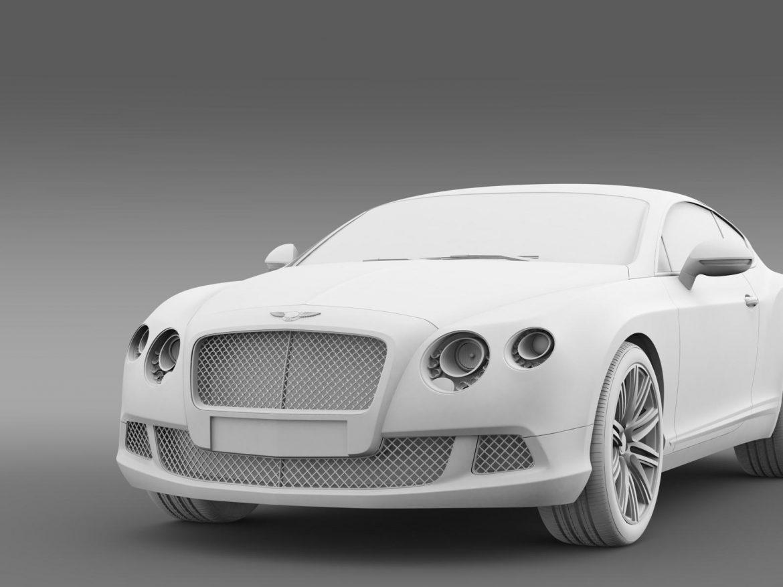 bentley continental gt speed 2012 3d model 3ds max fbx c4d lwo ma mb hrc xsi obj 163435