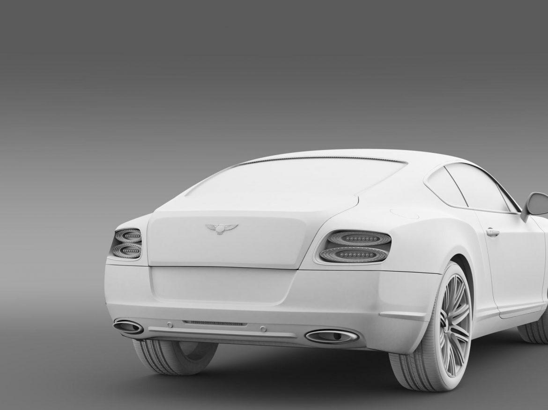 bentley continental gt speed 2012 3d model 3ds max fbx c4d lwo ma mb hrc xsi obj 163436