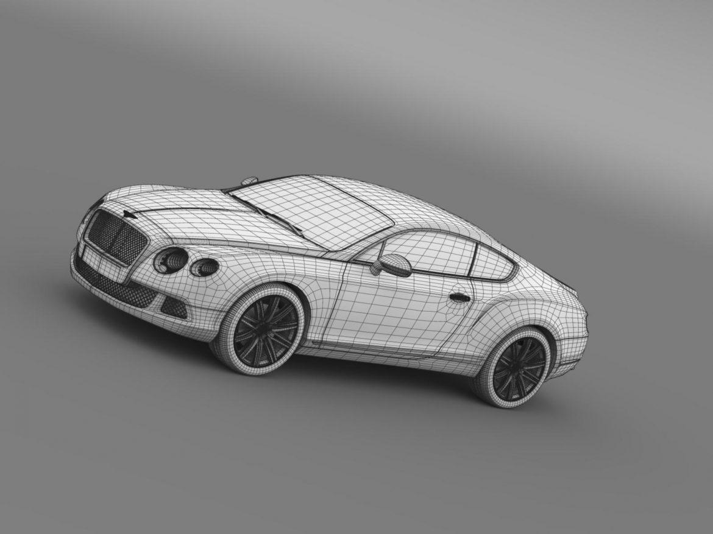 bentley continental gt speed 2012 3d model 3ds max fbx c4d lwo ma mb hrc xsi obj 163437
