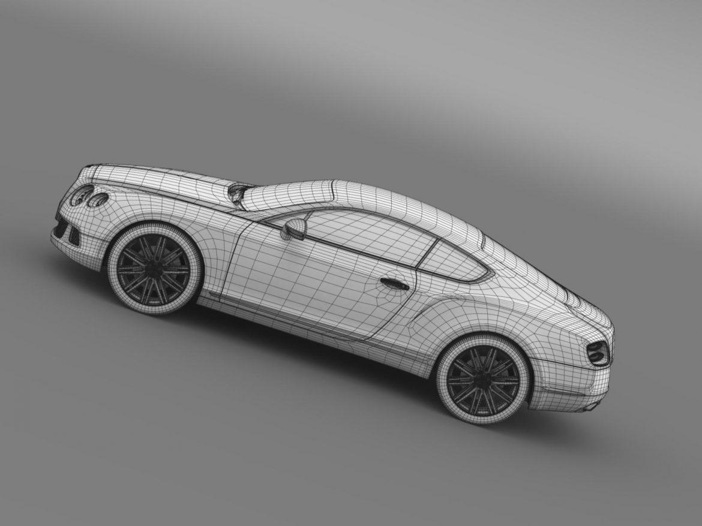 bentley continental gt speed 2012 3d model 3ds max fbx c4d lwo ma mb hrc xsi obj 163438