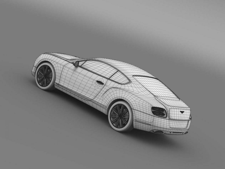 bentley continental gt speed 2012 3d model 3ds max fbx c4d lwo ma mb hrc xsi obj 163439