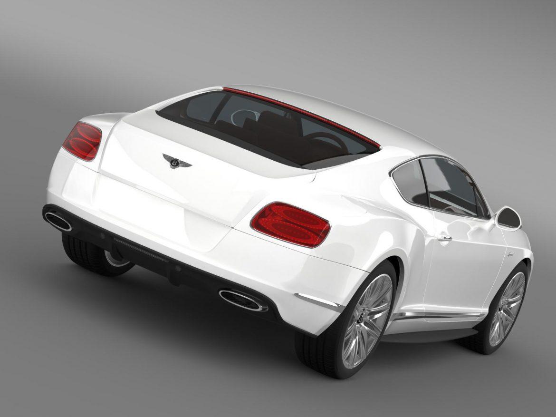 bentley continental gt speed 2014 3d model 3ds max fbx c4d lwo ma mb hrc xsi obj 163500