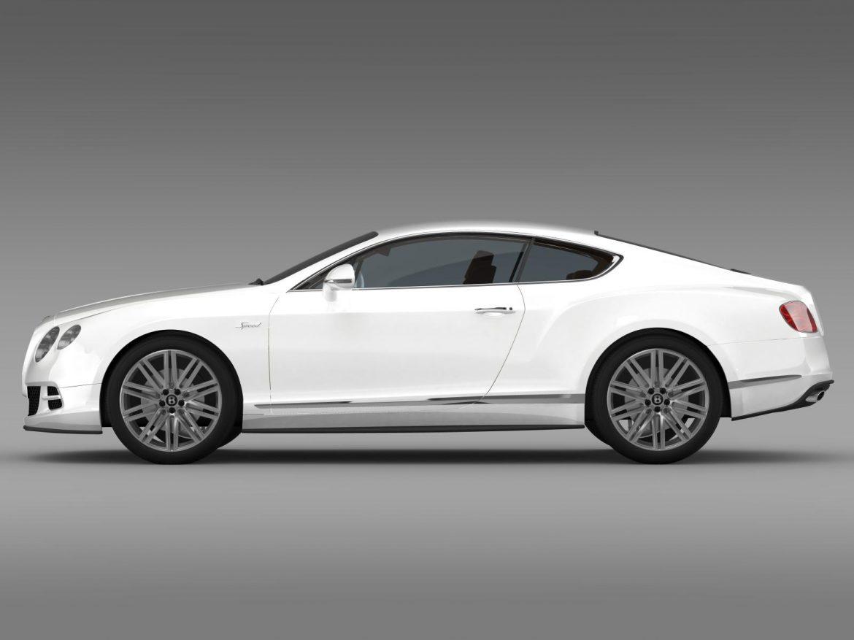 bentley continental gt speed 2014 3d model 3ds max fbx c4d lwo ma mb hrc xsi obj 163504