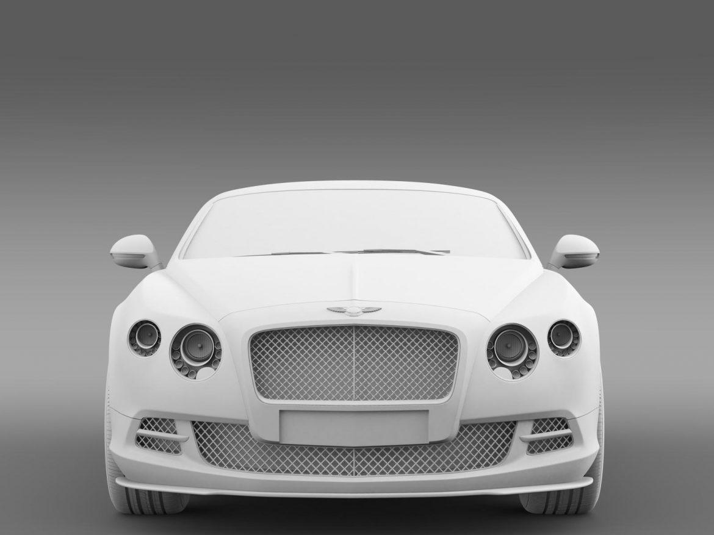 Bentlija kontinentālais gt ātrums 2014 3d modelis 3ds max fbx c4d lwo ma mb hrc xsi obj