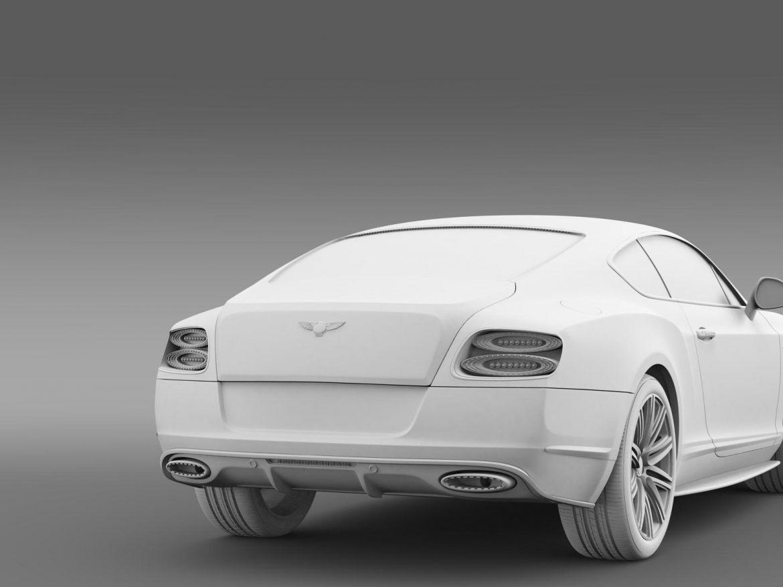 bentley continental gt speed 2014 3d model 3ds max fbx c4d lwo ma mb hrc xsi obj 163514