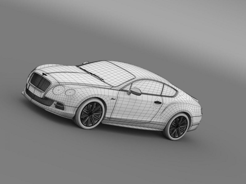 bentley continental gt speed 2014 3d model 3ds max fbx c4d lwo ma mb hrc xsi obj 163515
