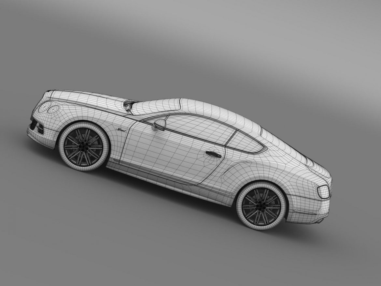 bentley continental gt speed 2014 3d model 3ds max fbx c4d lwo ma mb hrc xsi obj 163516